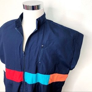Vintage Hugo Valentino Sleeveless Mens XL Jacket